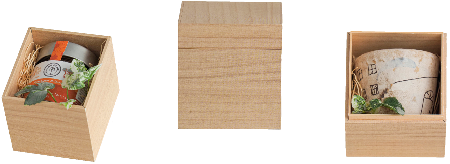 wealboxの「高級感のあるパッケージ」画像